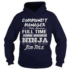 COMMUNITY MANAGER - MULTITASKING NINJA JOB TITLE