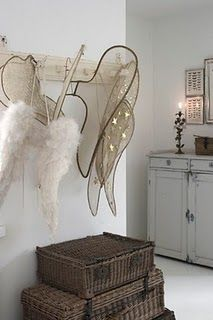 you always have to have a special place to hang your wings