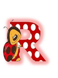 S.T.R.U.M.F.: Litere mari si cifre buburuze Ladybug Picnic, Alfabeto Animal, Illustrations And Posters, Tigger, Smurfs, Initials, Minnie Mouse, Disney Characters, Fictional Characters