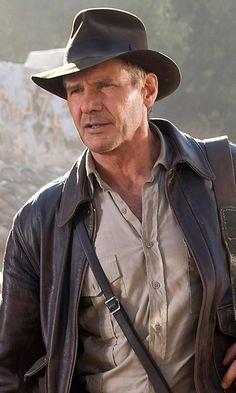 Pin for Later: Harrison Ford und Steven Spielberg drehen einen 5. Teil von Indiana Jones