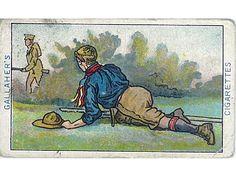 Gallher's Cigarettes Boy Scout cigarette card