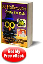 23 Halloween Crafts for Kids: Homemade Halloween Costume Ideas and Spooky Decor free eBook. Great for last minute homemade costumes and other fun Halloween craft ideas!