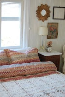 Crochet bed cover, I have way too  many of these!