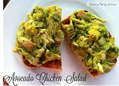 Geery, Party of Two: Avocado Chicken Salad