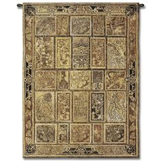 Golden Tapestry Tapestry Wall Hanging