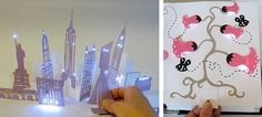5 Free Templates - Paper circuits are a creative way to teach electricity &…