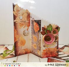 Cascade card tutorial by Maria Lillepruun