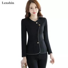 Choose to operate Form, head-turning looks. Blazer Fashion, Suit Fashion, Work Fashion, Fashion Outfits, Blazers For Women, Suits For Women, Women Blazer, Casual Skirt Outfits, Classy Outfits
