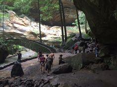 1. Old Man's Cave Loop (Hocking Hills State Park)