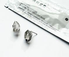 Сrystal. Silver. Cement. Medieval alchemical recipe.  Кристаллы хрусталя. Серебро. Цемент. Средневековый алхимический рецепт. #natashadea #natashaplatanova #contemporary #jewelry