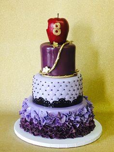 Disney descendants cake  by Cake designs Las Vegas
