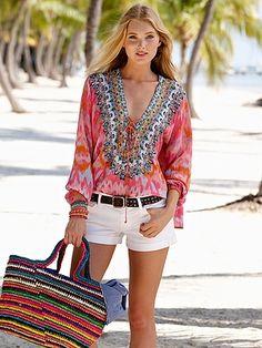 ashley shirt - blouses & tops - getaway - Gorsuch