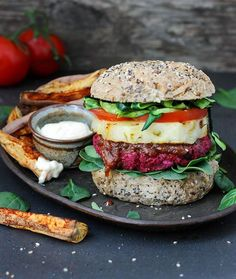 Beetroot Burgers 🍔😍