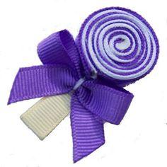 Lollipop hair clip.  My girls would LOVE this.