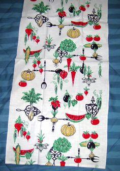 Attrayant Vintage Kitchen Towel