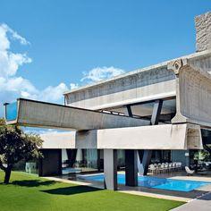Las Rozas (nearby Madrid). Casa Hemeroscopium by architects Anton Garcia Abril and Debora Mesa, Ensamble Studio