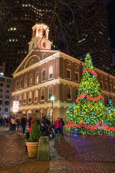 Christmas in Faneuil Hall, Boston