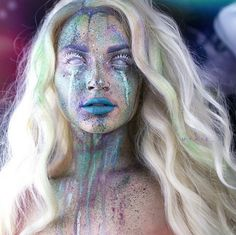 Username: @mykie_ Number of followers: 602K Known for: Glam and gore. Her creations run the gamut between gorgeously glittery and traumatically terrifying.