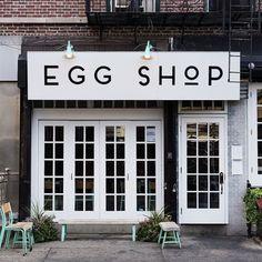 Egg Shop, New York