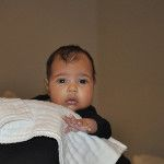 NORTH, Kanye and Kims baby, she is beautiful