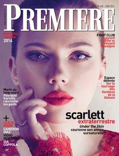 Scarlett Johansson [Première n°448 - Juin 2014]