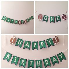 Hey, I found this really awesome Etsy listing at https://www.etsy.com/listing/243736483/first-birthday-football-party-pack-happy