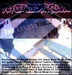 Dy-verse Productions Presents The Levey Vol.2 San Mateo Compilation CD + Bonus