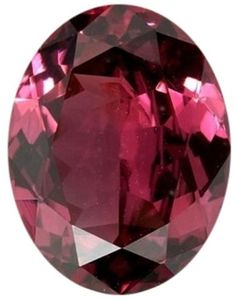 Rhodolite 110807: Natural Fine Rich Rose Red Rhodolite Garnet - Oval - Tanzania - Top Grade BUY IT NOW ONLY: $31.5