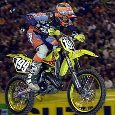2001 RM125 with Travis Pastrana, how many racer could he have won if he just would have stayed on the bike.