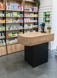 Pharmacy Store, Liquor Store, Showroom Design, Shop Interior Design, Beauty Supply Store, Cosmetic Shop, Retail Store Design, Commercial Architecture, Display Shelves