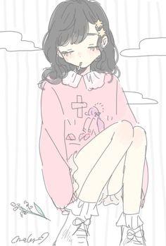 Pinkisk pik girl