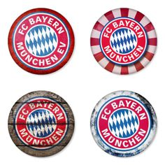 "BAYERN MUNICH Football Club 1.75"" Badges Pinbacks, Mirror, Magnet, Bottle Opener Keychain http://www.amazon.com/gp/product/B00K3U271M"