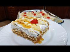 Γλυκό με πτι μπερ και κρέμα πορτοκάλι!!! - YouTube Greek Recipes, Pie, Sweets, Desserts, Beverage, Food, Cakes, Youtube, Torte