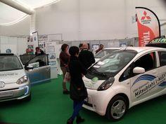 Mini-Eolica Mundial / Congress y Expo - Mini-Eolica / Husum 2014, Alemania NEW ENERGY. Autos 100% electricos de Mitsubishi