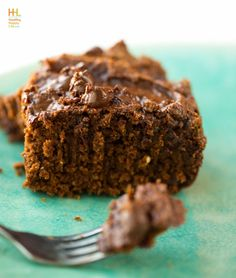 Triple Chocolate Pumpkin Cake. Vegan and easily gluten free (just use gluten free oats.)