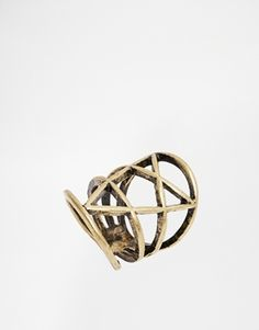 ASOS Solstice Cage Ring