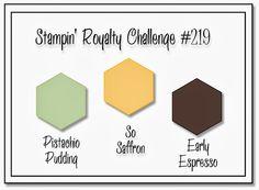 Stampin' Royalty: Stampin' Royalty Challenge #219