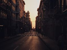 Tramonto in Trieste città #trieste #sunset #triestesocial #city #urban #road
