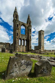 wanderthewood: St. Andrews Cathedral, Fife, Scotland by Scott Donschikowski on Flickr