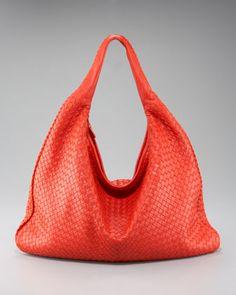 595591414cf Tangerine Tango - Carry It in Style with Bottega Veneta Maxi Veneta Hobo