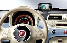 Foto Fiat 500 diseño interior