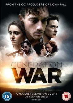 "Generation War (2013) directed by Philipp Kadelbach, starring Volker Bruch, Tom Schilling, Katharina Schüttler, Miriam Stein and Ludwig Trepte. ""Career-soldier Wilhelm, his pacifist younger brother Friedhelm, and their friends Charlotte, Viktor and Greta say farewell in the summer of 1941 in Berlin, with the promise to meet again after the war. Little do they know how much the unfathomable experiences, deprivations and terrors of the war will change them."""