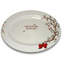 Roots of Love Wedding Signature Platter by SerendipityCrafts, $75.00