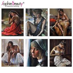 Diy Diamond Painting Cross Stitch Oil Paintings Beauty Young Lady Art Resin Diamond Embroidery Needlework Diamond Mosaic Paint. Yesterday's price: US $9.90 (8.14 EUR). Today's price: US $7.52 (6.16 EUR). Discount: 24%.
