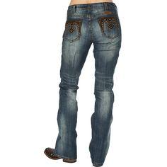 Women's Cowgirl Tuff Western Vintage Jean