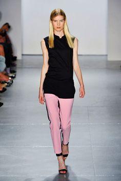 1 Line!  Lined Curve PantsTrend forSpring Summer 2013  #fashion #trends  TibiSpring Summer 2013