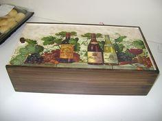 Caixa de vinha , trabalhoa da aluna Fatima