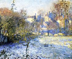 Frost, 1875 (oil on canvas), Monet, Claude (1840-1926)