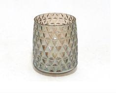 Glass ombré vase