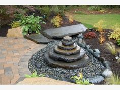 Disappearing Fountain - Home and Garden Design Ideas